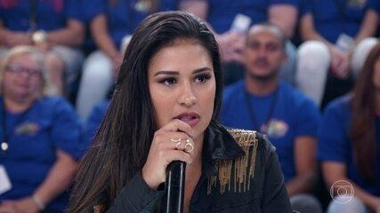 Simone fala sobre estado de saúde de Simaria
