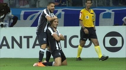 Os gols de Cruzeiro 0 x 2 Ceará pela 28ª rodada do Brasileirão 2018