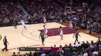 Melhores momentos: Brooklyn Nets 102 x 86 Cleveland Cavaliers de NBA