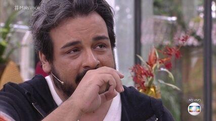 Luis Lobianco fala sobre a perda da mãe aos 5 anos