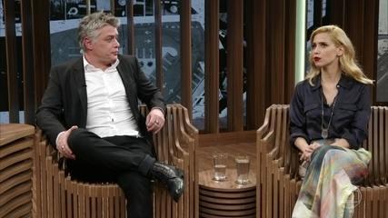 """Mel Lisboa e Fábio Assunção falam sobre a peça """"Dogville"""""""