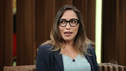 Paula Ramón relata vida da mãe que está na Venezuela