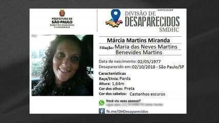 Polícia diz que assistente social desaparecida em SP foi morta pelos sogros