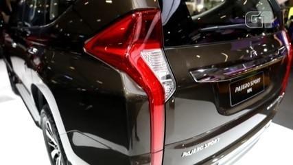 Salão do Automóvel 2018: Mitsubishi apresenta nova Pajero Sport