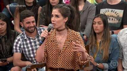 """Marjorie Estiano fala sobre a segunda temporada de """"Sob Pressão"""""""