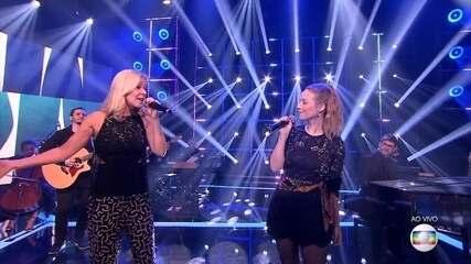Malu Rodrigues e Paula Toller fazem uma apresentação especial na semifinal