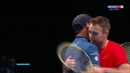 Dupla americana bate Bruno Soares e Jamie Murray e avança para a final do ATP Finals