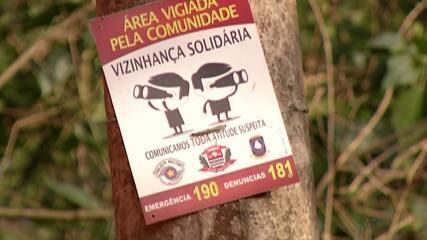 Moradores se unem e contam até com drone para melhorar segurança em Suzano
