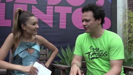 """Danton Mello fala nos bastidores do """"Dança dos Famosos"""""""