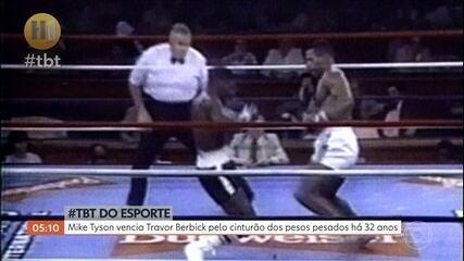 TBT: Mike Tyson vencia Travor Berbick pelo cinturão dos pesos pesados há 32 anos