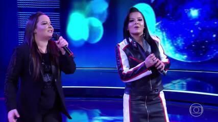 Maiara e Maraisa cantam 'Sorte que cê beija bem'