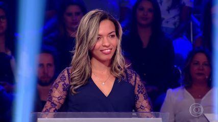 Juliana Batista volta no 'Quem Quer Ser Um Milionário'