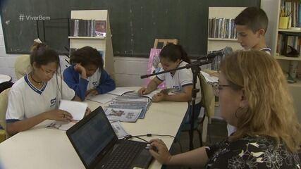 Escola de Itanhaém, SP, cria projeto para incentivar leitura entre alunos