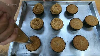 Cupcake de Churros do 'É de Casa'
