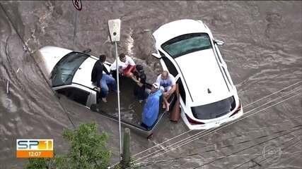 Duas pessoas morrem durante temporal no ABC