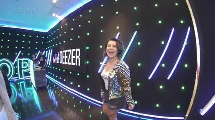 Fernandinha arrasa no lounge de Deezer