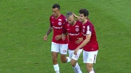 Veja os dois gols de Nico López contra o Fluminense