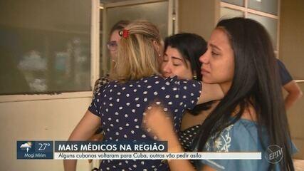 Alguns cubanos do programa 'Mais Médicos' voltam para Cuba no final de semana