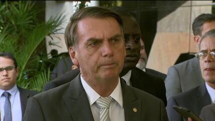 Bolsonaro diz que 'toda a população vai pagar' reajuste nos salários dos ministros do STF