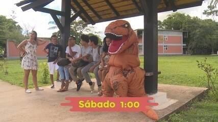 Vem conhecer o DinoAcre no Zapp de sábado (1º)