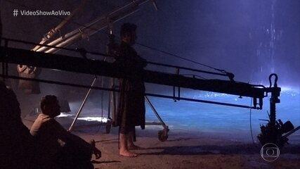 Vídeo Show na gravação da morte do guardião Egídio