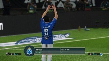 Os gols das finais do e-Brasileirão entre Cruzeiro e Botafogo
