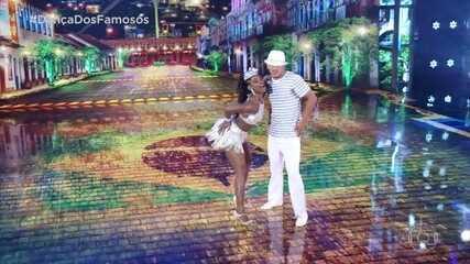 Erika Januza e Elias se apresentam no ritmo Samba