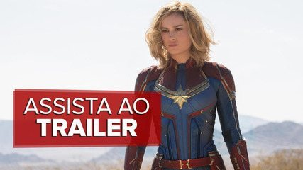 Assista ao trailer de 'Capitã Marvel'