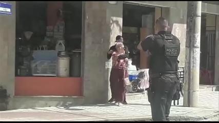 Bandido faz idosa de refém durante assalto e é morto pela PM em Valença