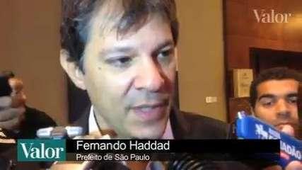 Haddad afirma que não vai negociar com motoristas grevistas