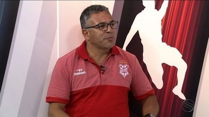 Técnico do Sergipe participa do estúdio do GE