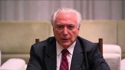 Presidente Michel Temer anuncia uma intervenção federal em Roraima