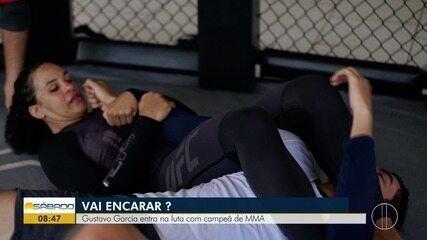 """""""Vai Encarar?"""" vive um dia de treino da lutadora do UFC, Talita Bernardo"""