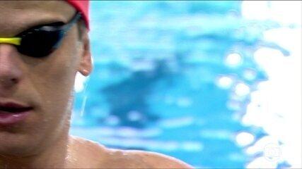 César Cielo disputa Mundial na China