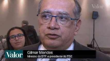 Ministro Gilmar Mendes pede cautela com ideia de eleições gerais