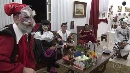 Convidados chegam ao jantar de Márcio