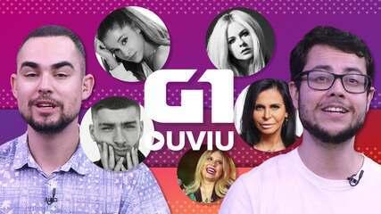 Ariana Grande, Avril Lavigne, Marília Mendonça, Gretchen: fim de ano feminino no G1 Ouviu