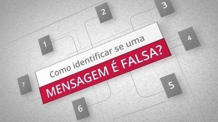 Como identificar se uma mensagem é falsa