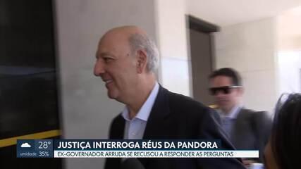 Justiça interroga réus da Pandora no crime de formação de quadrilha