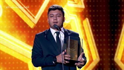 Pedro Resende é eleito melhor atleta de Futebol Virtual no Prêmio e-Sports Brasil 2018