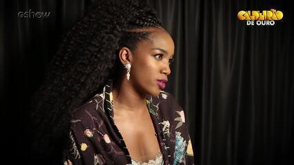 A cantora IZA fala no ´Caldeirão de Ouro´ como a música ´Pesadão` mudou sua vida