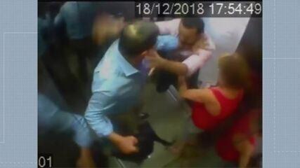 Rede Gazeta afasta repórter da TV que se envolveu em briga em prédio