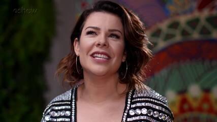 Fernanda Souza fala da amizade com Arlete Salles