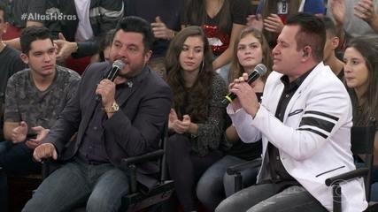 Bruno e Marrone cantam 'Moreninha Linda'
