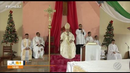 Católicos celebram o Círio do Menino Deus em Marituba, na Grande Belém