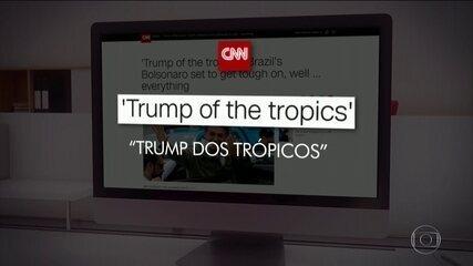Posse de Jair Bolsonaro repercute no mundo