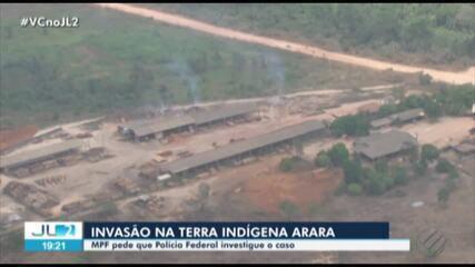MPF pede à Polícia Federal ação contra invasão de madeireiros em terra indígena no Pará
