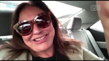 Cantora Fafá de Belém grava vídeo falando sobre aniversário da cidade