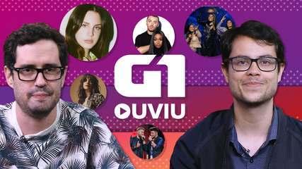 G1 Ouviu: Lana Del Rey, Simone & Simaria com Ludmilla, Zé Neto & Cristiano, Sam Smith