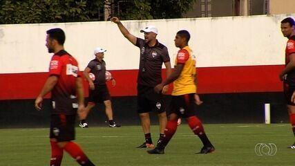 Atlético-GO pronto para o primeiro teste da temporada